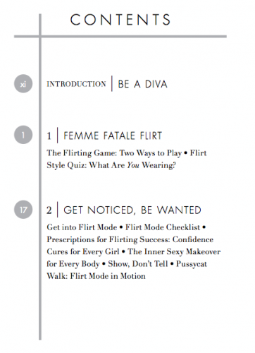 Contents and chapters: Total Flirt by Violet Blue